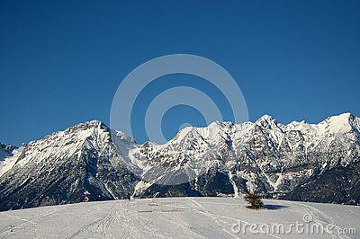 Summit tyrolean alps