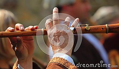 Sumário do desempenho da flauta