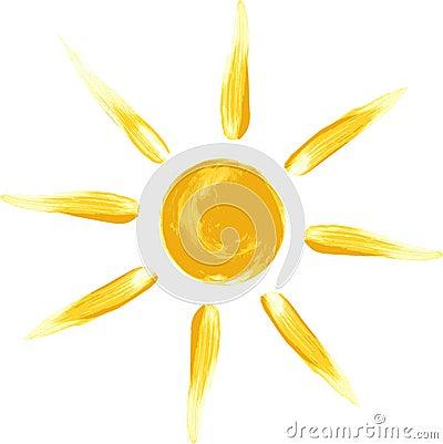 Sun Vector Illustration