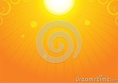 Sun backgroud