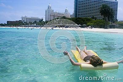 Sun Bathing Beach