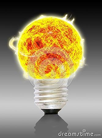 A sun bulb