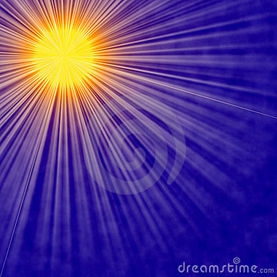 Sun burst Abstract Background
