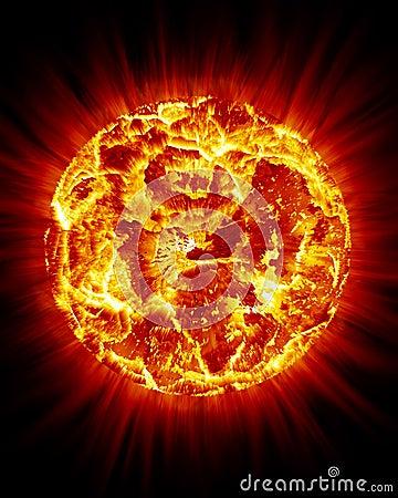 Sun Bursting