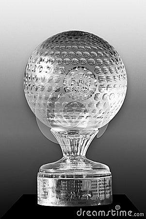 Sun City - Nedbank Golf Challenge Trophy Editorial Image
