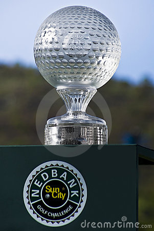 Sun City - trofeo del desafío del golf de Nedbank - NGC2010 Foto editorial