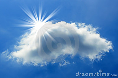 Sun and Cloud