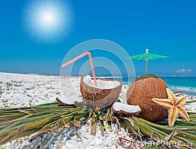 Sun and coconuts