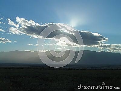The Sun e nuvem