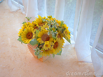 Sun Flower,Flower Arrangement