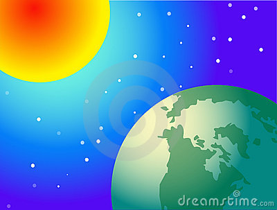 Sun and glob