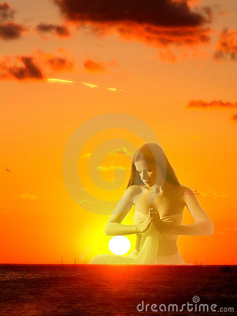 Free Sun Goddess Royalty Free Stock Image - 834236