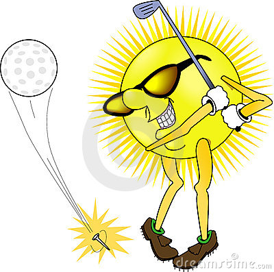 Sun_golfing