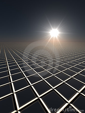 Sun and Grid Horizon
