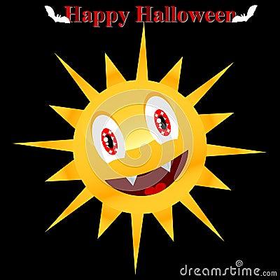 Sun in a Halloween