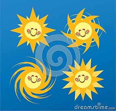 Sun Happy Face