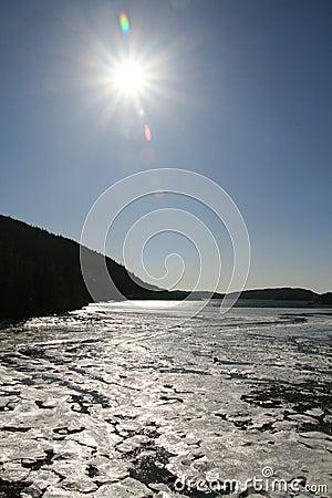 Sun in Ice