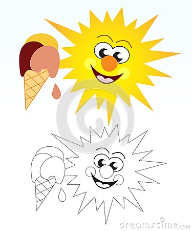 Sun and ice cream