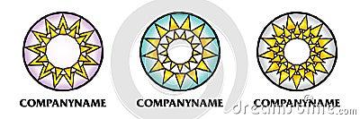 Sun icon and logo designs