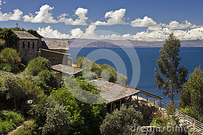 Sun Island on Lake Titicaca - Bolivia