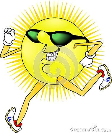 Sun_jogging