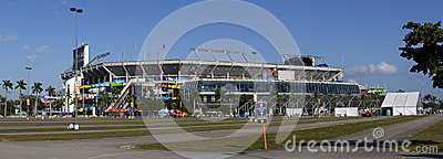 Sun Life Stadium - Miami Florida Editorial Image