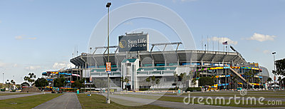 Sun Life Stadium - Miami Florida Editorial Photo