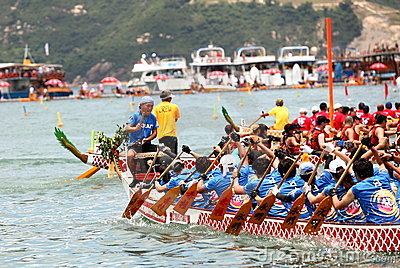 The Sun Life Stanley International Dragon Boat  Editorial Photography