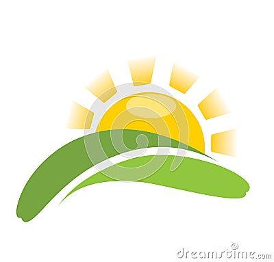 Free Sun Nature Vector Icon Royalty Free Stock Photos - 7958698