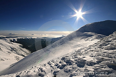 Sun over the top