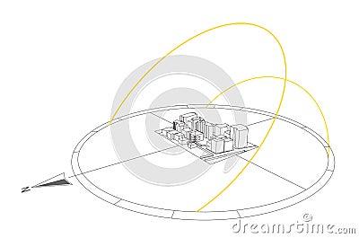 Sun Path illustration