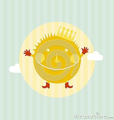 sun portrait