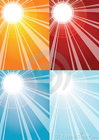 Free Sun Rays Backgrounds Stock Photo - 7495450