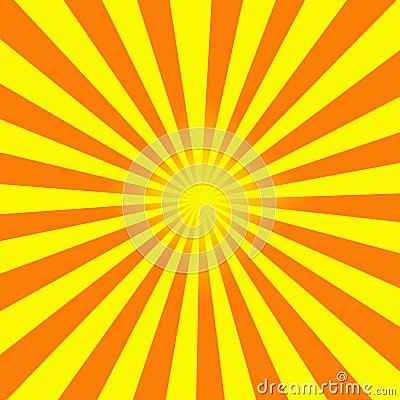 sun rays illustration royalty free stock image image