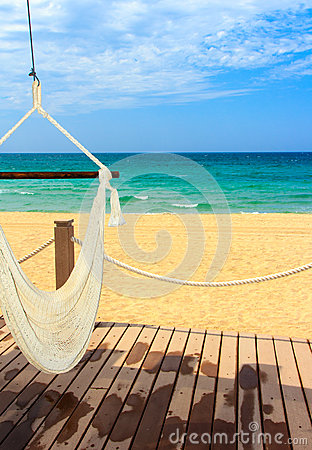 Sun sand and relaxation