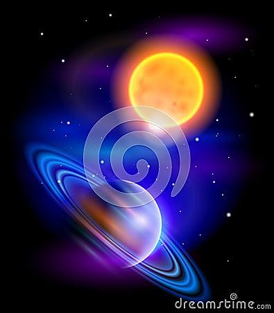 galaxy saturn planet stars - photo #14
