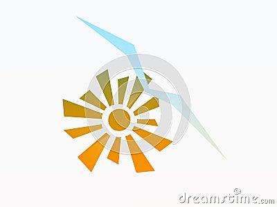 Sun and Seagull