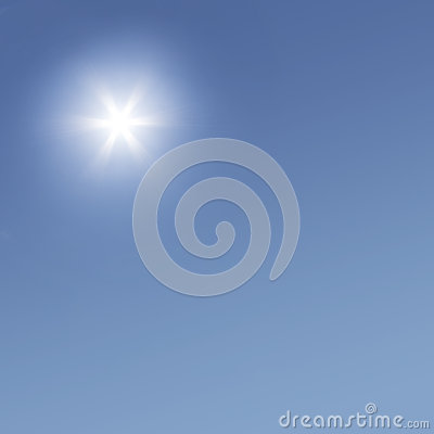 Sun on the Sky