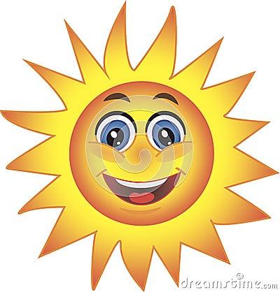 Sun, Smiley. Symbol.