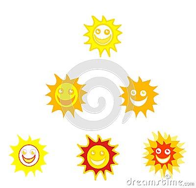 Sun Smileys