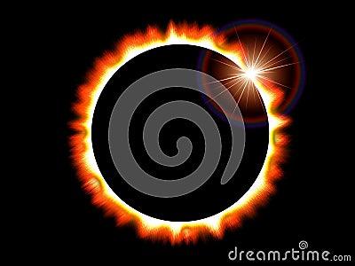 Sun Solar Eclipse