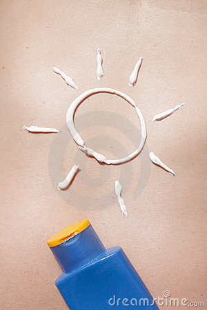 Sun and sunscreen