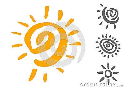 Sun symbols