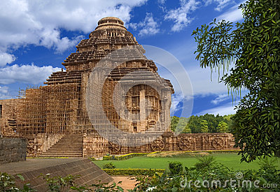 Sun Temple. Konark, Orissa, India