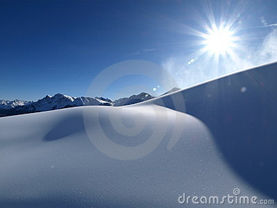 Sun u. Schnee