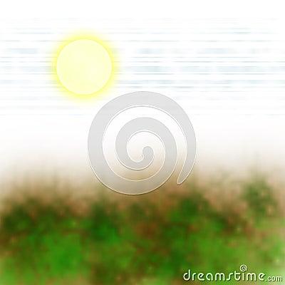 Sun vegetation