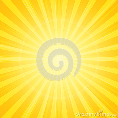 Free Sun With Rays Background Royalty Free Stock Photography - 32218437