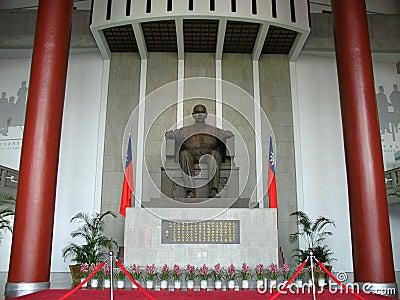 Sun-Yat-Sen Memorial Hall Editorial Stock Photo