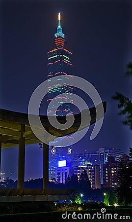 Sun Yat-Sen Memorial Hall Building 101 Taipei