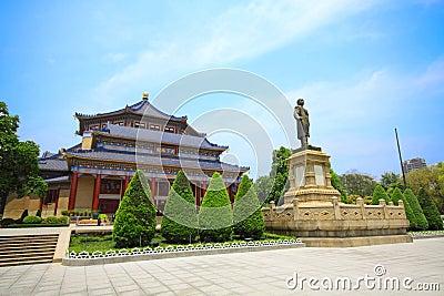 Sun Yat-sen Memorial Hall in Guangzhou, China